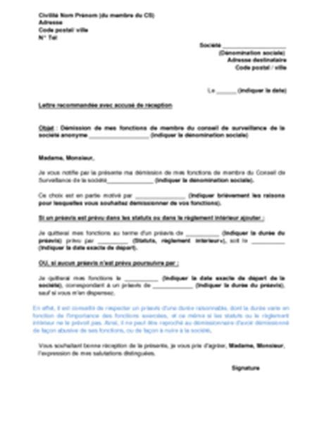 Modã Le Lettre De Dã Mission ã Ve Exemple De Lettre De Demission D Une Association Loi 1901 Covering Letter Exle