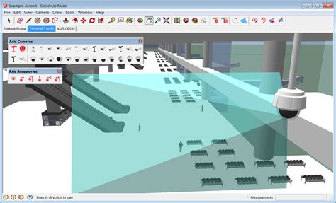 video surveillance layout designing video surveillance systems using 3d visualization