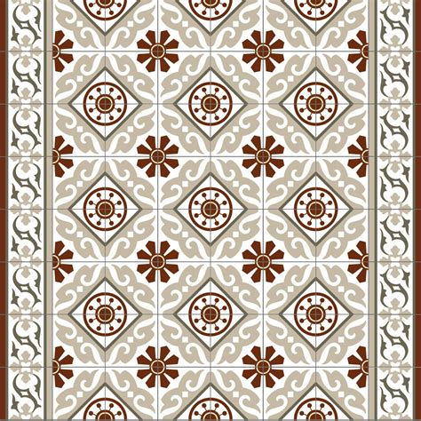 decorative rugs pvc vinyl mat tiles pattern decorative linoleum rug color bordeaux and gray 210 free shipping