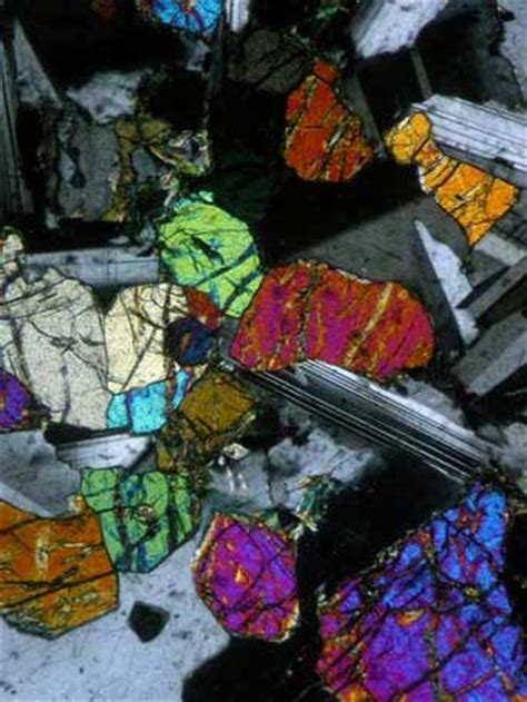 oligoclase thin section thin section gallery