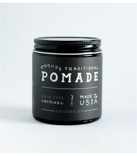 Pomade O Douds o douds original hold pomade hair stuff мужской груминг