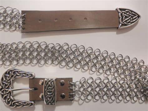 Belt Mata chainmail celtic belt by sleepymata on deviantart