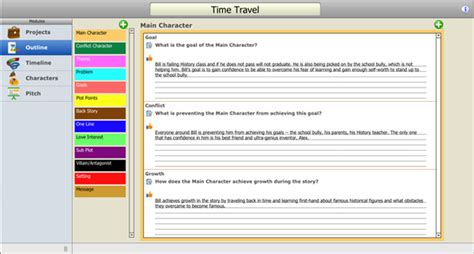 Novel Outline Software Mac by Index Card Apps A Listly List