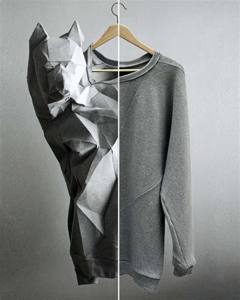 Origami Clothing Line - 50 origami inspired fashion styles