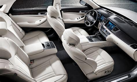 Genesis Auto Upholstery by 2015 Hyundai Genesis Review Prices Specs
