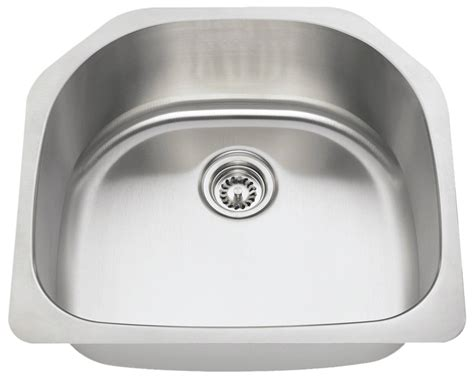 2421 d bowl stainless steel kitchen sink