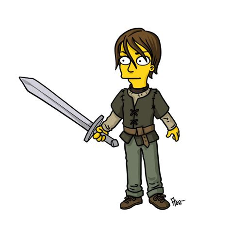 Simpsons Of Thrones by Your Favorite Breaking Bad And Of Thrones Characters
