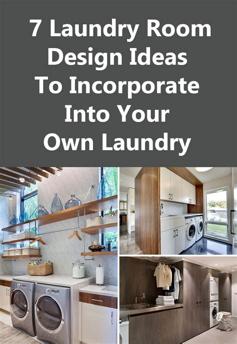 make your room 7 laundry room design ideas to use in your home contemporist