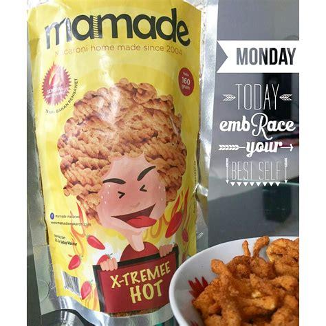 Mamade Makaroni 160gr Semua Rasa jual mamade makaroni the snacks