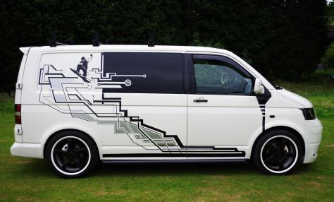 Vw Auto Winde by Vw T5 1 Snowboarder Decals 20 Custom Painted Wheels