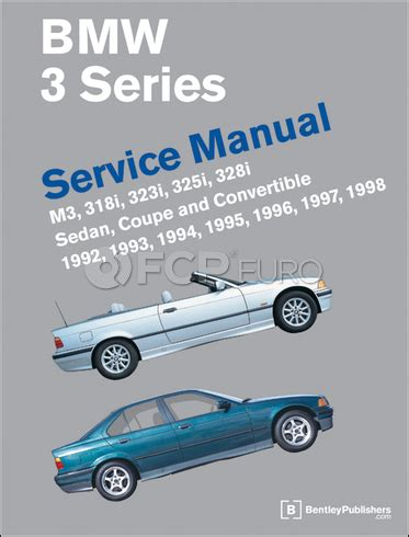 Bmw E36 Bentley Manual Bmw Repair Manual E36 Bentley B398 Fcp