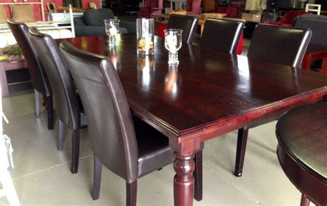 Leather Dining Room Chairs South Africa Synthetic Leather Dining Chairs Plettenberg Bay