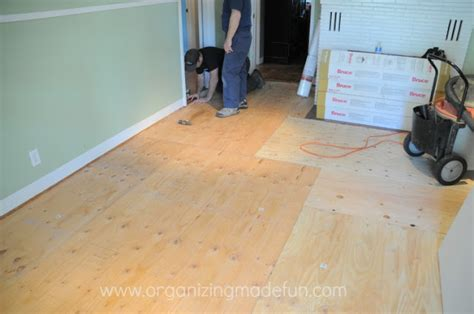 update on projects installing engineered hardwood floors organizing made fun update on