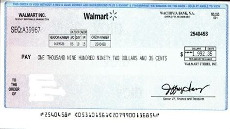 Walmart Background Check Policy Scam Alert Receive A Check From Wal Mart Don T It
