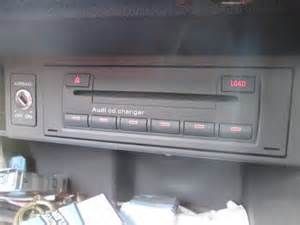audi a3 8p genuine 6 cd changer glovebox concert stereo