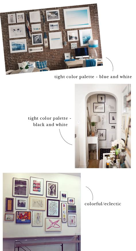 how to arrange pictures on a wall without frames step by step tips for creating a gallery wall york avenue