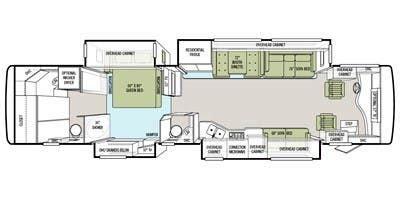 phaeton qbh floor plan specs for 2012 tiffin phaeton 40 qbh rvs rvusa