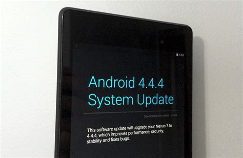 android 4 4 4 kitkat on nexus 7 review