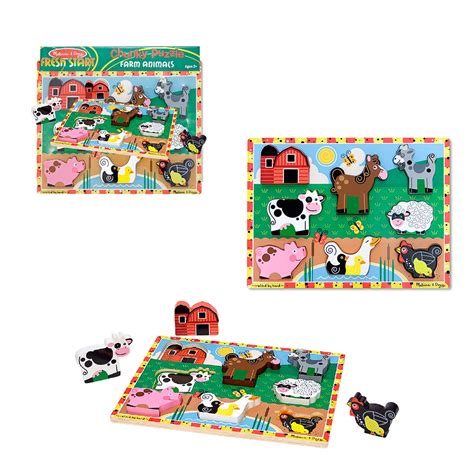 Chunky Puzzle Animal C farm animals chunky puzzle creative kidstuff