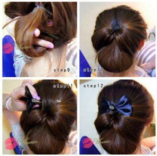 tutorial blow rambut pendek sendiri 25 ide terbaik sanggul rambut di pinterest sanggul tak