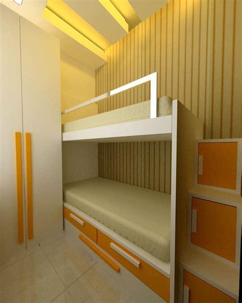 Paket Interior Furniture Apartement Set Tipe 2 Bedroom Kamar Tidur 1 paket interior apartemen 2 kamar murah apartment design
