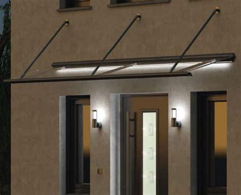 beleuchtung vordach zulegro ab glas design