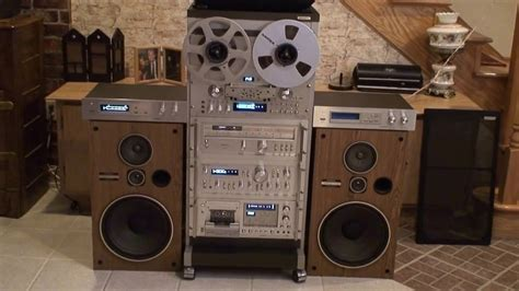 Rack System Stereo by Pioneer Vintage Stereo System Rack