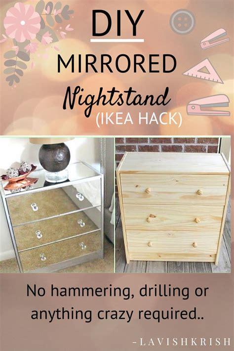 diy mirrored desk 25 best ideas about ikea mirror hack on ikea