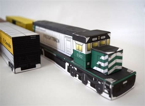 Papercraft Trains - 120 best my paper stuff images on paper