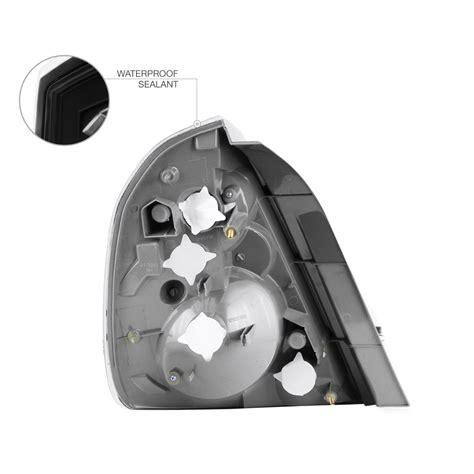 2006 nissan altima brake light bulb fits 2002 2006 altima se r oe style black rear lights