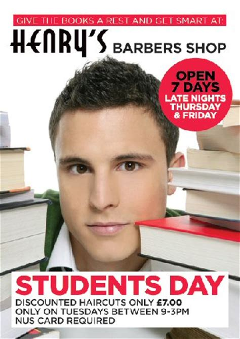 student haircut deals dublin bracknell barbers haircuts at henry s barbers shop in