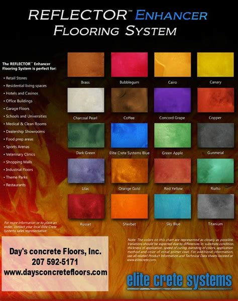 floor paint color chart html autos post