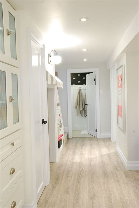 #basement #white #bright   Rambling Renovators   Pinterest