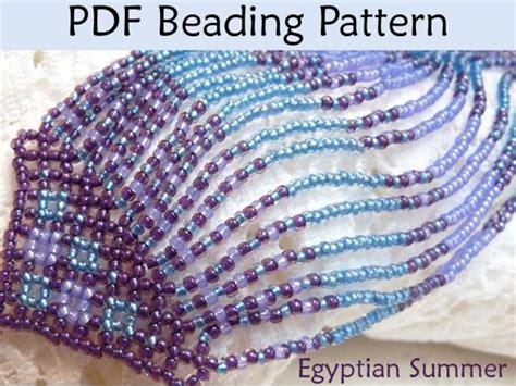 net stitch beading simple bead patterns beading tutorials and