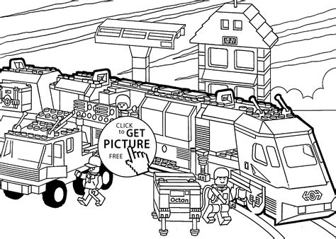 long train coloring page lego train coloring page for kids printable free lego