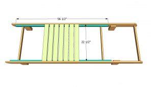 Slat Chair Plans by Useful Wood Slat Chair Plans Jonson
