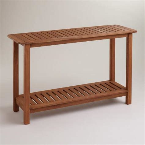 world market sofa table console table world market