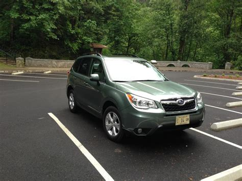 subaru crosstrek jasmine green 2014 forester drive test autos post