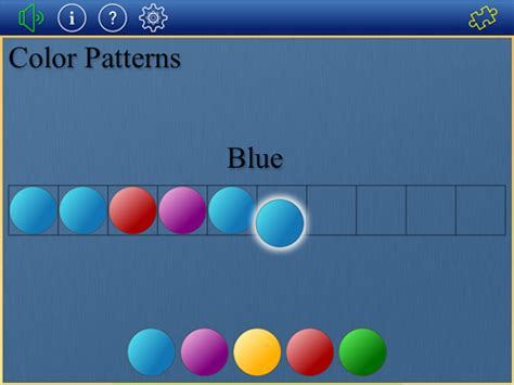 color pattern software patterns colors shapes classroom focused software