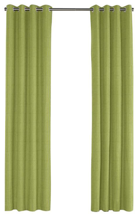 green linen drapes grass green slubby linen grommet curtain contemporary