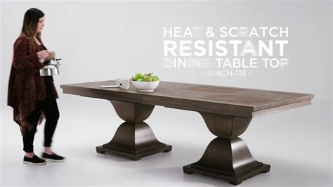 heat  scratch resistant dining tables  inspire  youtube
