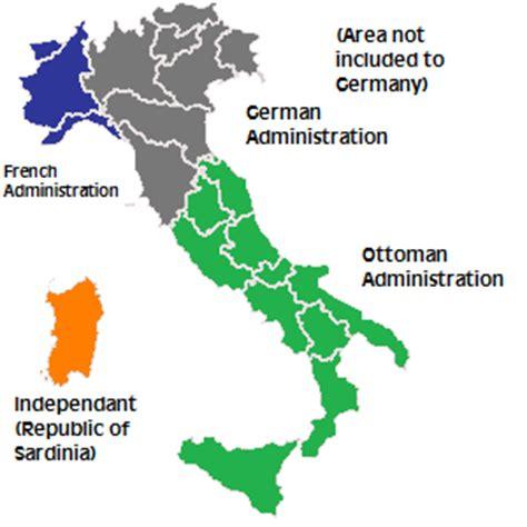 Partition Of Italy New Ottoman Empire Alternative
