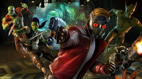 marvels guardians of the marvel s guardians of the galaxy the telltale series artwort play3 de