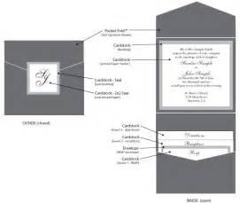Pocket Fold Envelopments 174 Pocket Folds 174 Envelofolds Invitations By Custom Programs Pocket Invitations