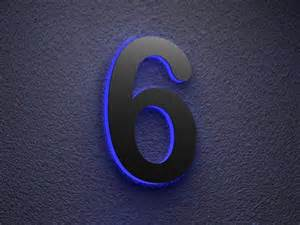 Solar Powered House Address Number Lights - illuminated house number illuminated house numbers to coloring your house home constructions