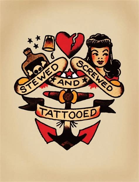 sailor jerry traditional tattoos another tattoo