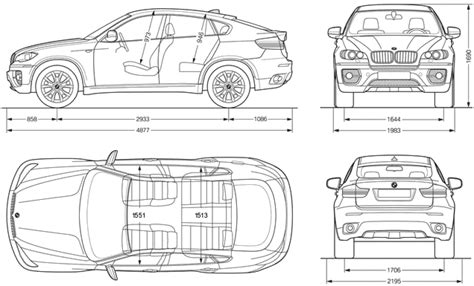 xatva manqanis how to draw a bmw x6 как нарисовать bm car blueprints bmw x6 blueprints vector drawings