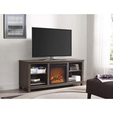 Fireplace Tv Stand Walmart Canada by Dorel Edgewood Tv Console Electric Fireplace Walmart Canada