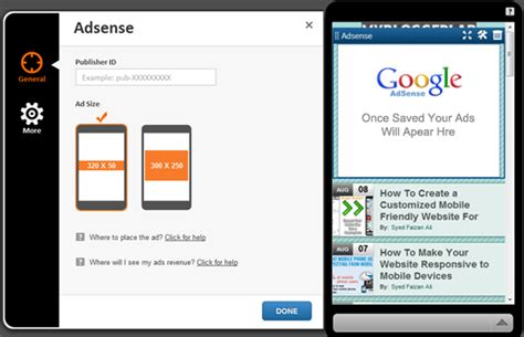 adsense mobile how to add google adsense on your mobile website my