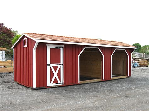 2 Room Shed by Run In Shed With Storage Room Two Run Ins
